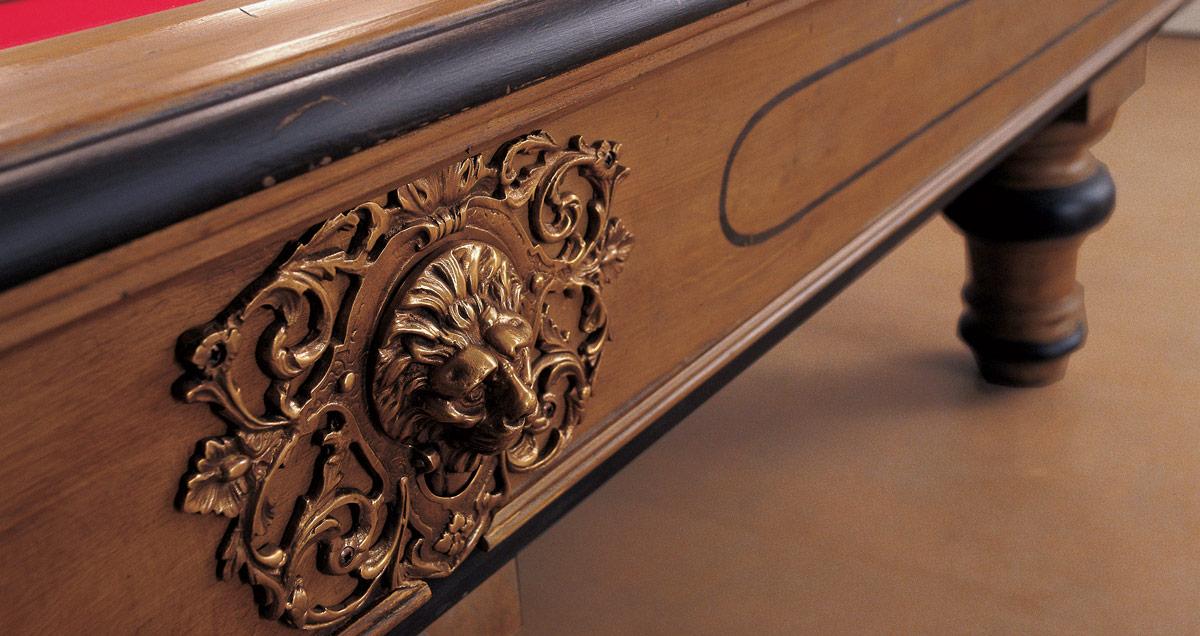 Biliardo tradizionale '800 Classic per gli amanti delle linee classiche