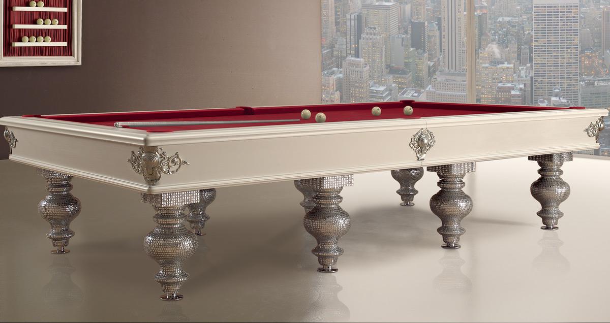 Tavolo biliardo tradizionale Bisanzio dal carattere elegante