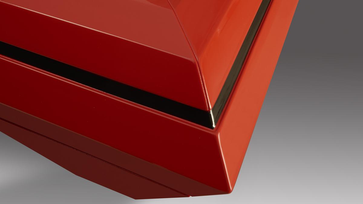Tavolo biliardo design Dragster per ambienti moderni e contemporanei