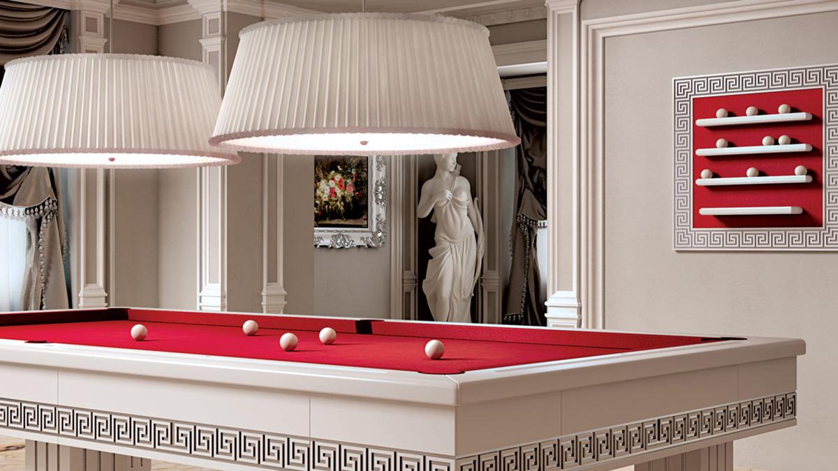 Tavolo biliardo moderno Ercole per arredamenti classici e tradizionali