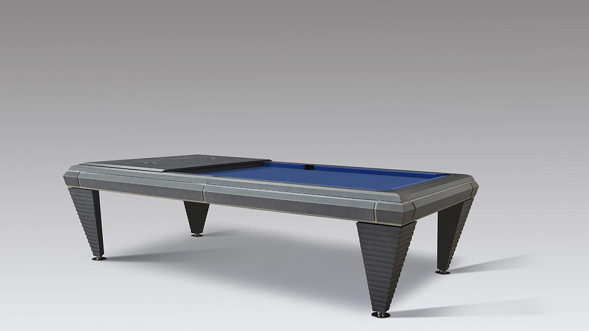 Biliardo Design Silverado per ambienti moderni e contemporanei
