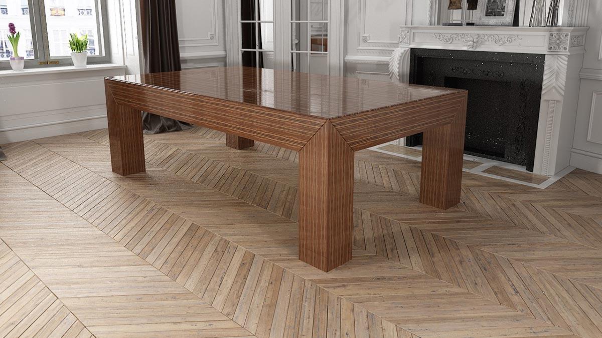 Biliardo tavolo da pranzo Istambul per ambienti moderni e giovanili