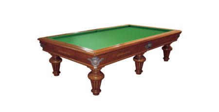 Tavolo biliardo tradizionale Luigi XVI per ambienti sobri ed eleganti