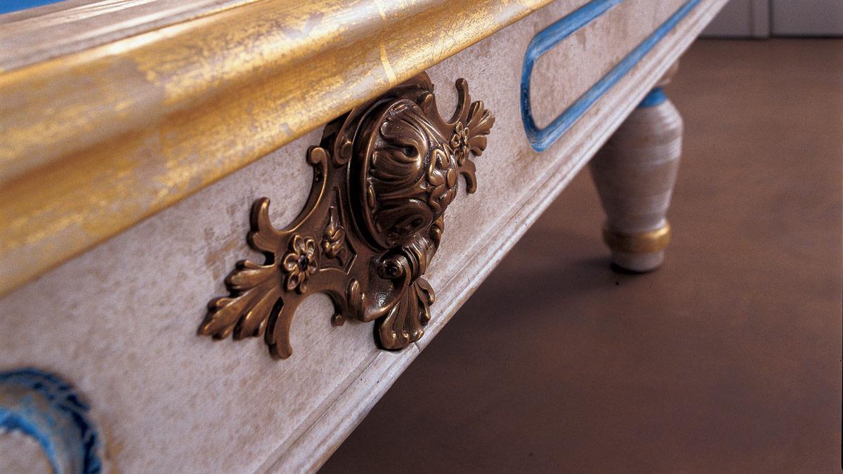 Biliardo Classico Dante Patinato è l'espressione dello stile toscano