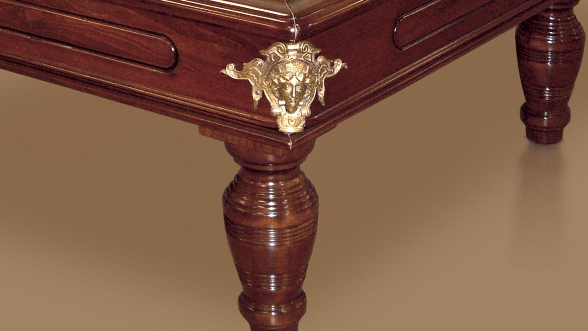 Biliardo classico Firenze interamente in legno pregiato