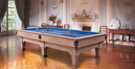 Biliardo classico Napoleone Patinato per ambienti eleganti