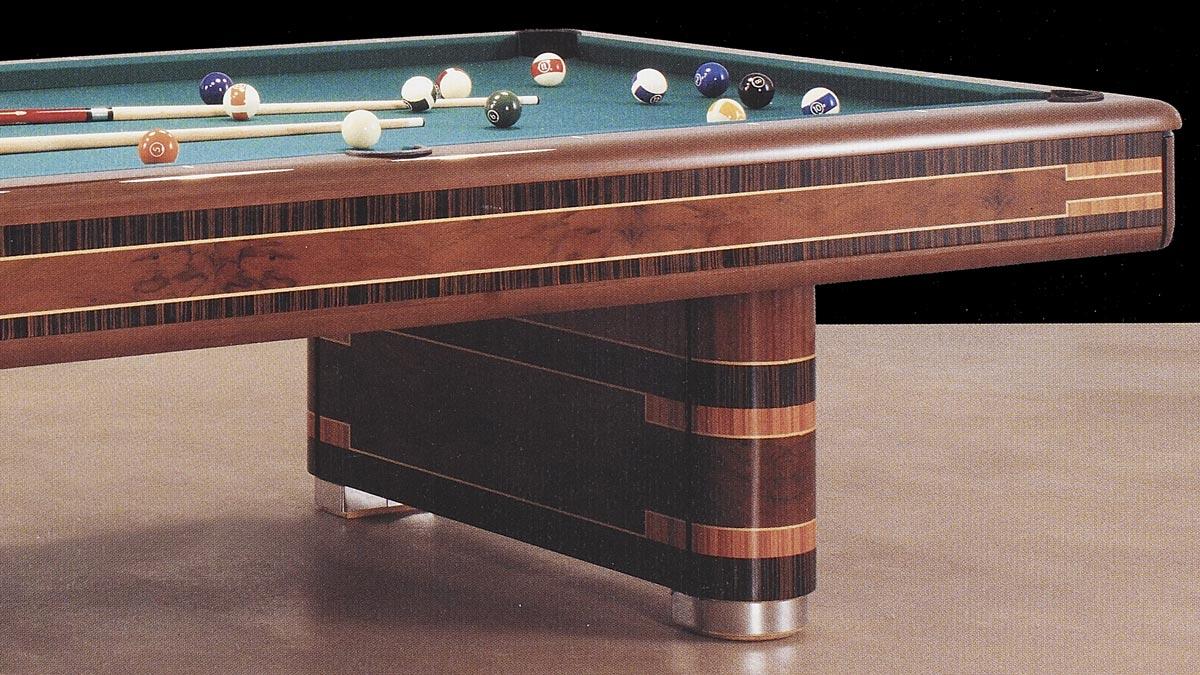 Biliardo pool Sain Vincent, nonché biliardo americano