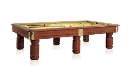 Biliardo competizione Toledo realizzato in legno pregiato