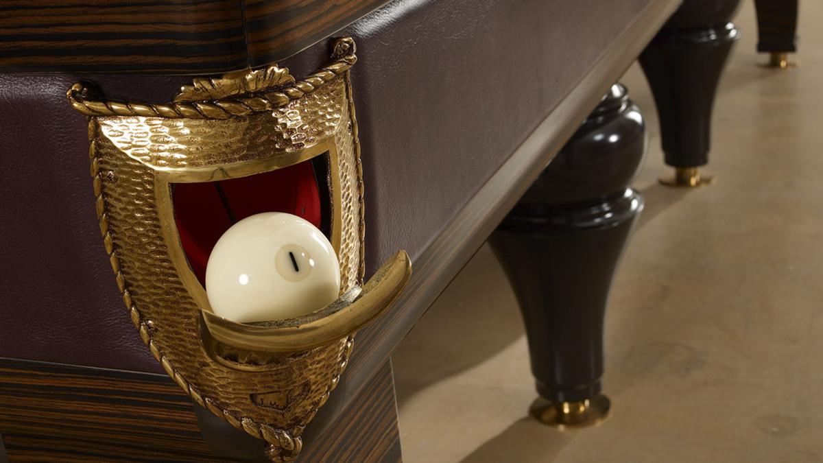 Biliardo tradizionale Pegaso Plus darà un tocco artistico ai tuoi ambienti