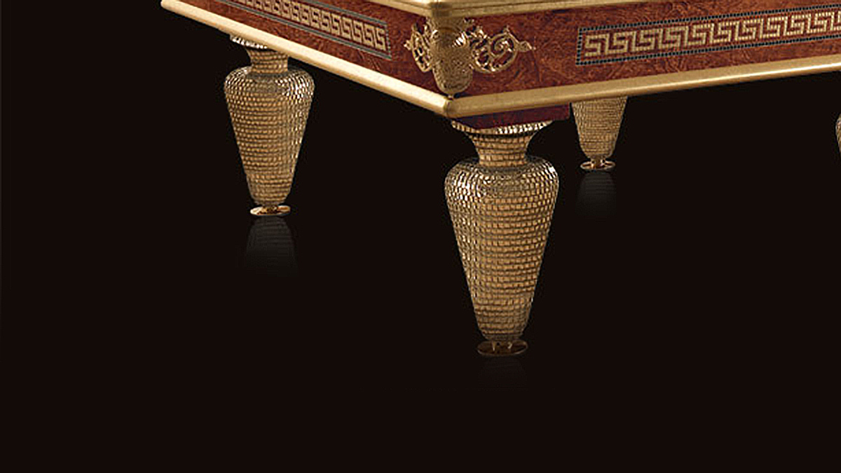 Biliardo Classico Giove Plus raffinato ed elegante per ambienti unici