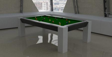 Tavolo Biliardo convertibile Zurigo dalla struttura solida