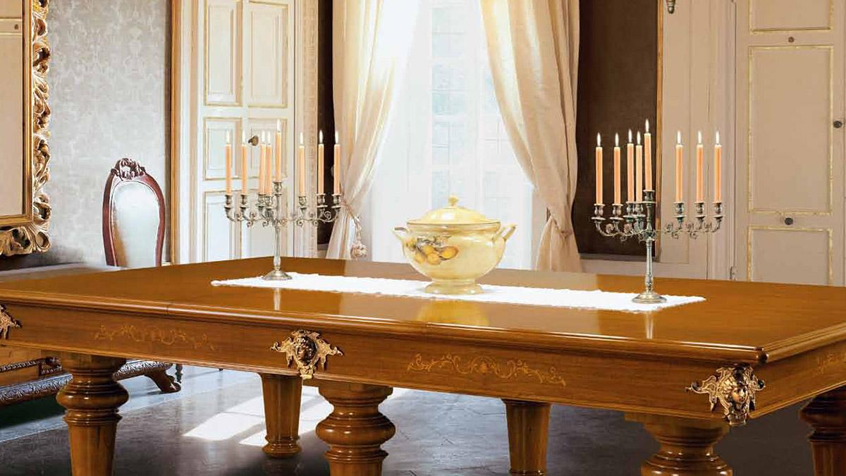 Tavolo Biliardo con copertura Danta Flora in stile Classico Italiano