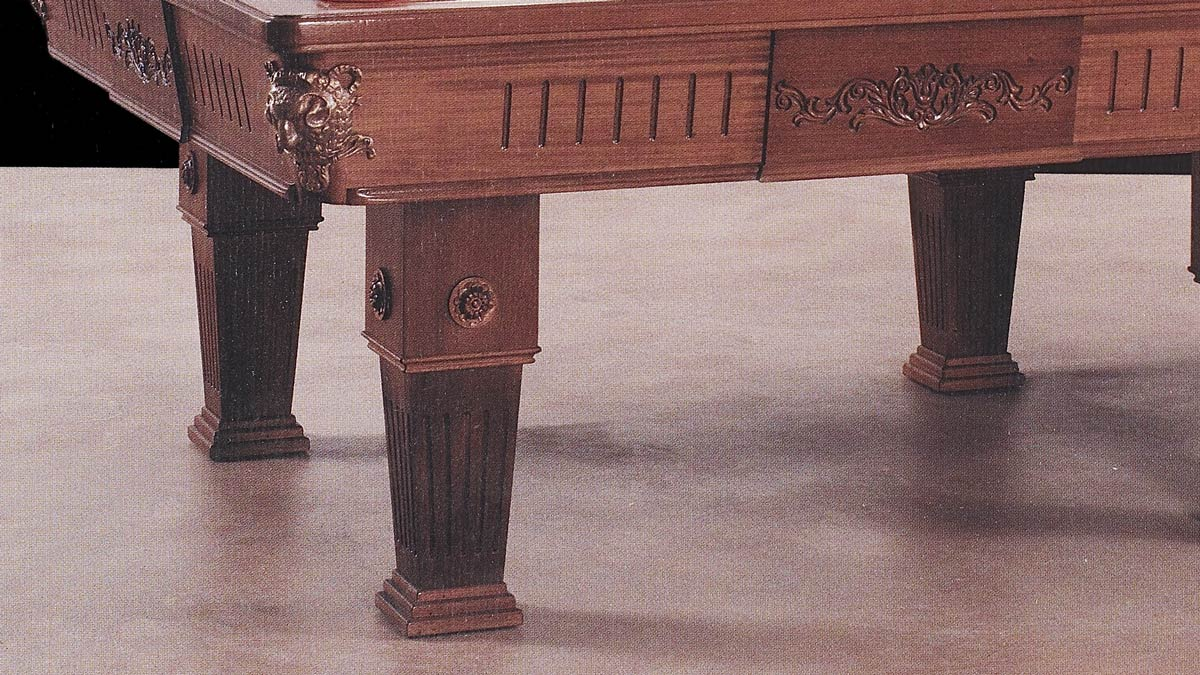 Tavolo Biliardo incorporato Waterloo in perfetto stile francese
