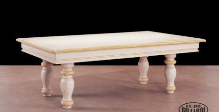 Tavolo biliardo Parigi convertibile in un elegante tavolo da pranzo